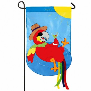 Parrot Summer Time Garden Flag Garden Flags On Sale