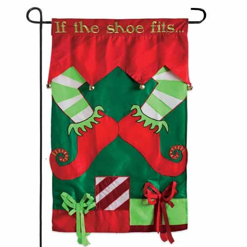 If The Elf Shoe Fits Garden Flag Garden Flags On Sale