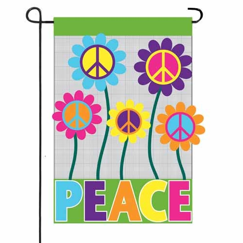 Peace Garden Flag Garden Flags On Sale Flags On Sale