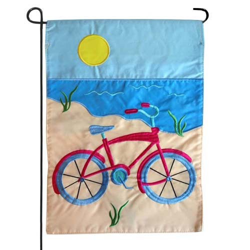 Summer Bicycle Garden Flag Garden Flags On Sale Flags