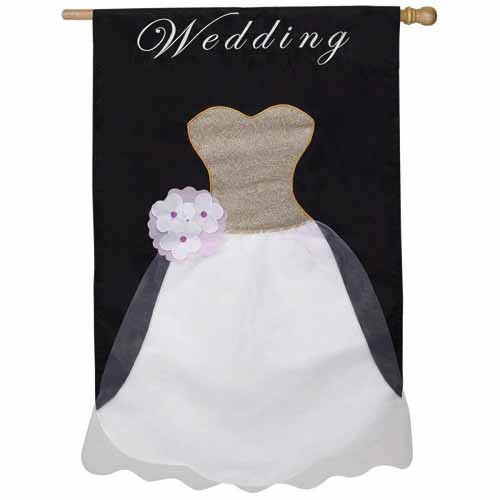 Wedding dress house flag featured for How to ship a wedding dress usps