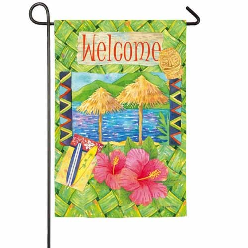 Welcome Garden Flag Flags On Sale Clearance